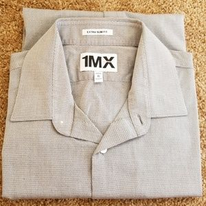 EXPRESS men's slim fit dress shirt.